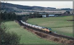 6A65 Gleneagles (jbg06003) Tags: colas cement 6a65 class70 freight perthshire gleneagles