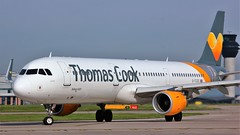 G-TCDC (AnDyMHoLdEn) Tags: thomascook a321 egcc airport manchester manchesterairport 23l