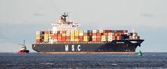 Ships of the Mersey--MSC Sao Paulo (sab89) Tags: river mersey shipping ships ship wirral estuary irish sea liverpool