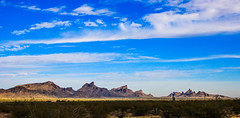 SAW TOOTH MOUNTAINS,  ARIZONA (Buck--Fever) Tags: arizona arizonaskies arizonadesert arizonawonders mountain landscape sky bluesky canon60d tamron18400lens sawtoothmountains
