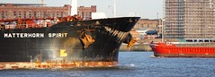 Ships of the Mersey--Bows Matterhorn Spirit & Ceg Universe (sab89) Tags: river mersey shipping ships ship wirral estuary irish sea liverpool