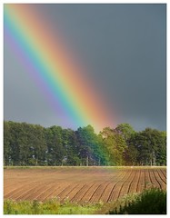 Back in the summer (jamesdewar99) Tags: landscape rainbow light summer colours sky field canon outdoorphotgraphy nature snapshot explored inexplore