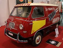 Fiat Abarth van (Schwanzus_Longus) Tags: essen motorshow german germany italy italian old classic vintage vehicle panel van fiat abarth 600 multipla coriasco