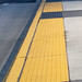 Tactile Strips at the End of the SWIFT Green Line Bus Stop