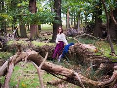 Shooting Casual - Marëwella - Richmond Park -2019-10-25- P1844920 (styeb) Tags: shoot shooting casual richmondpark england london 2019 octobre 25 xml retouche modelmarëwella