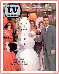 TV Magazine - Tennessee Ernie Ford - 1963 (StarRunn) Tags: tvmagazine tennesseeernieford christmas holiday tvspecial snowman 1960s