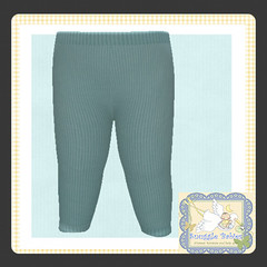 display legging ribbed turq (Snuggle Animesh Clothes) Tags: second life zooby animesh baby snuggle clothes dress