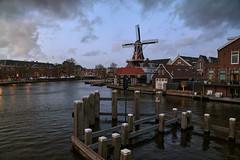 Haarlem (Julysha) Tags: haarlem mill evening z6 thenetherlands noordholland river zaan captureone 2019 sigma241054art dusk town