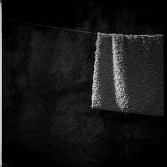 Dull Things Deserve a Photograph Too (Manuel&TheSea) Tags: monochrome mediumformat filmphotography ishootfilm tlr analoguephotography analogue iso100 bw rodinal125 rodinal ilfordfilm ilford delta100 delta100film somberthiotparis luxoflex atos2 6x6 squareformat vintagecamera 50scamera hangingrope carpet dull film