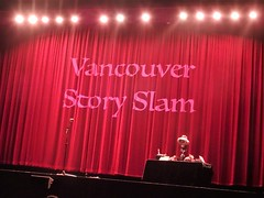Vancouver Story Slam (knightbefore_99) Tags: red rio vancouver slam cool theatre stage awesome curtain great story eastvan final fun best 10 comics art rouge fantastic