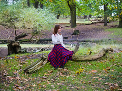 Shooting Casual - Marëwella - Richmond Park -2019-10-25- P1844941 (styeb) Tags: shoot shooting casual richmondpark england london 2019 octobre 25 xml retouche modelmarëwella