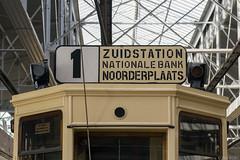 De oude lijn 1 in Antwerpen (Tim Boric) Tags: tram tramway streetcar strassenbahn antwerpen koersbord routeindicator lijn1