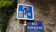 Clet...Montmarte, Paris... (colourourcity) Tags: paris streetartnow streetartparis parisstreetart graffitiparis parisgraffiti streetart graffiti colourourcity colourourcityparis colourourcityfrance awesome nofilters clet