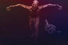 Zombie (JoJo - Taking Clients (Just send me a message :-))) Tags: zombie terror changing dark red dust blue digital art render daz studio 3d photoshop