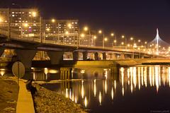 IMG_5404 (Serg_Petroff) Tags: saintpetersburg saintp russia evening urban city night petersburg bridge people lights