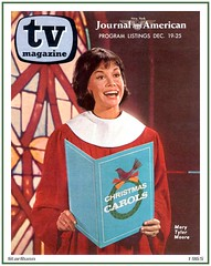 TV Magazine - Mary Tyler Moore - 1965 (StarRunn) Tags: tvmagazine marytylermoore dickvandykeshow christmas holiday magazinecover 1960s
