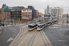 Lijn 1 is terug in Antwerpen (Tim Boric) Tags: antwerpen italiëlei noorderlaan londenstraat tram tramway streetcar strassenbahn delijn hermelijn albatros noorderplaats