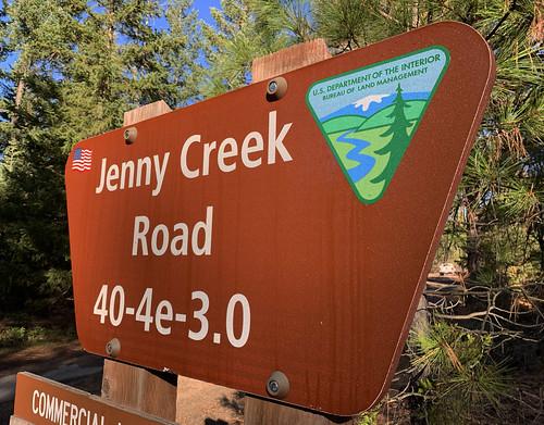 Jenny Creek Wild and Scenic River