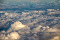 Flight to Lanzorote (scilly puffin) Tags: lanzorote tui aeroplane canoneosm50 clouds