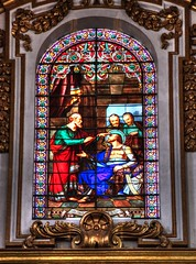 Stained glass (Siuloon) Tags: cathedralinmdina malta malte mdina architektura architettura architecture architectural architetura church cathedral texture