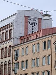 Göteborg 000076 (Torben*) Tags: rawtherapee dmcfz50 panasonic urlaub vacation göteborg gothenburg schweden sweden sverige gebäude building facade fassade 18931993 strasenlaterne streetlight