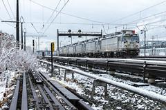 Relocation (sullivan1985) Tags: amtrak amtk northeastcorridor nec metropolitandivision aem7 aem7ac motor electric locomotive locomotives harrison newjersey nj hudsoncounty winter snow retired storage amtk905 amtk941 amtk917 amtk919 amtk920 amtk908 amtk935