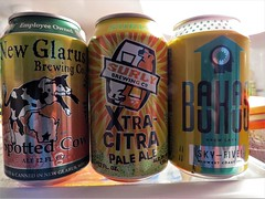 Beers (pirate johnny) Tags: fridge beer spottedcow surly bauhaus skyfive ale