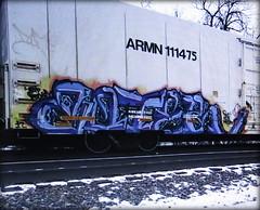 zoter (timetomakethepasta) Tags: zoter pm ofa freight train graffiti art armn reefer union pacific