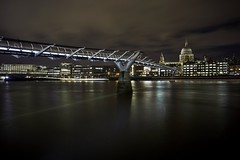 Classic South Bank view of St. Paul's cathedral (EricMakPhotography) Tags: stpauls cathedral river thames bridge cityscape