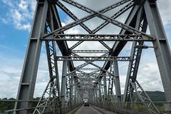 Triangles (Jocey K) Tags: tripukeroupe2019 june uk scotland southernscotland connel connelbridge bridge lochetive cars sky clouds road