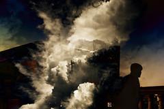 DSC00002c (wood_photo) Tags: light mood photoshop textures composite layers smoke man silhouette street