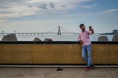 Selfie with The Sea Link (agarwalsonika7) Tags: sealink mumbai travel photography india maharashtra tourism bandra bandraworlisealink streetphotography streets bombay sea blue indian nikon bridge candid people photojournalism photographer street candidphotography city cityscape water photograph mumbaicity