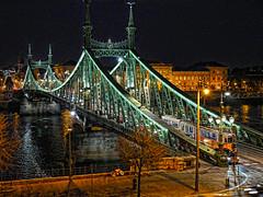 Budapest - Hungria -  Puente de la libertad (Antonio-González) Tags: budapest hungria puentedelalibertad puente libertad szabadsághíd freedombridge