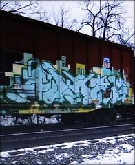blare (timetomakethepasta) Tags: blare mah dehse freight train graffiti art union pacific boxcar sp southern
