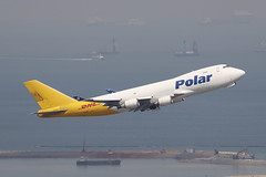 N452PA, Boeing 747-400F, Polar Air Cargo, Hong Kong (ColinParker777) Tags: boeing 747 747f b747 b747f jumbo polar air cargo airlines airline airways freight freighter airliner aviation flying flight fly departure takeoff climb hkg vhhh hong kong chek lap kok airport pearl river delta ships boats shipping shipment hksar hk china canon 200400 l lens zoom telephoto n452pa 747400f 744f b744f b747400f 30810 1260 74746nf