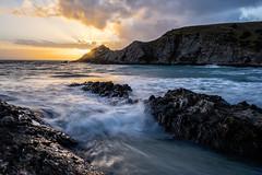 (trubble_07) Tags: test blow hole beach waves rocks sunset kangaroo island deep creek