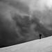 Under the sky (seasonoftowers) Tags: snow mountains ciuc clouds blackandwhite carpathians hamradio