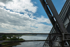 Over Loch Etive (Jocey K) Tags: lochetive uk june scotland connel connelbridge southernscotland tripukeroupe2019 bridge sky water clouds
