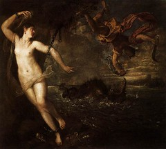 Perseus and Andromeda [1554-1556] - Titian (gunnr_lp) Tags: greekmythology mannerist