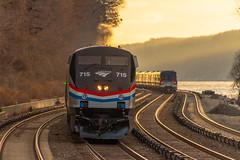 Diesel and Electric (MadMartigen) Tags: locomotive hudsonvalley ny newyork railroad trains ge gep32acdm genesis generalelectric gegenesis p32acdm
