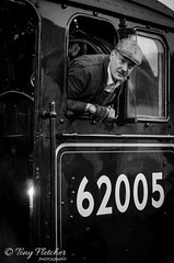 'GROSMONT STATION' (tonyfletcher) Tags: railwayinwartime2019 pickering1940s railwayinwartime nymr northyorkmoorsrailway tonyfletcher wwwtonyfletcherphotographycouk wwwwhitbygothscenecouk 1940sevent portraits 40s homefront ww2 steamlocomotive grosmont 62005