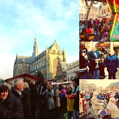 One year ago. Haarlem's Christmas Market. Sweet memories.