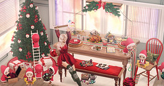 L322 (JoJo Delvalle - Photographer & blogger) Tags: secondlife sl game virtual doll cute christmas astralia phedora chicchica anaposes ayla dlab halfdeer uber thearcade fameshed