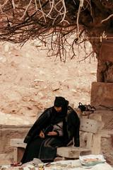 thorny situation (rick.onorato) Tags: jordan middle east arabic islam muslim woman tree