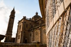 Sanctuaire national Ta' Pinu sur Gozo (uluqui) Tags: fuji fujifilm xt20 xtrans architecture religion church malte malta vacance holiday wander wanderlust light sky blue yippee yippeemalta