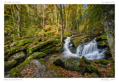 Cascades (BerColly) Tags: france auvergne vollore cascades vallée darots druides automne feuillage pauselongue aeau water torrent bercolly google flickr