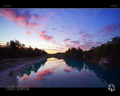 Dusk Over Black Diamond (tomraven) Tags: dusk sunset sky clouds sun reflections lake water trees australia wa silhouettes shadows light nature landscape tomraven aravenimage q42019 sony a7ii