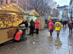 Rainy Manchester German Christmas Markets 2019 (Tony Worrall) Tags: christmas xmas festive annual market manchester greatermanchester rainy wet damp stalls germanmarket candid people rain german huts goods event shoppers tourists coats weather city welovethenorth nw northwest north update place location uk england visit area attraction open stream tour country item greatbritain britain english british gb capture buy stock sell sale outside outdoors caught photo shoot shot picture captured ilobsterit instragram