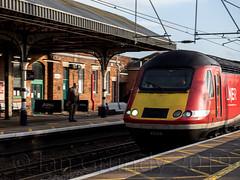 Grantham Station 6457 (stagedoor) Tags: grantham lincolnshire railwaystation train platform lner intercity125 southkesteven eastmidlands midlands england uk omdem1mkii olympus copyright