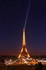Eiffel Tower at Dusk (sumi!) Tags: france eiffeltower paris dusk sunset twilight magichour light